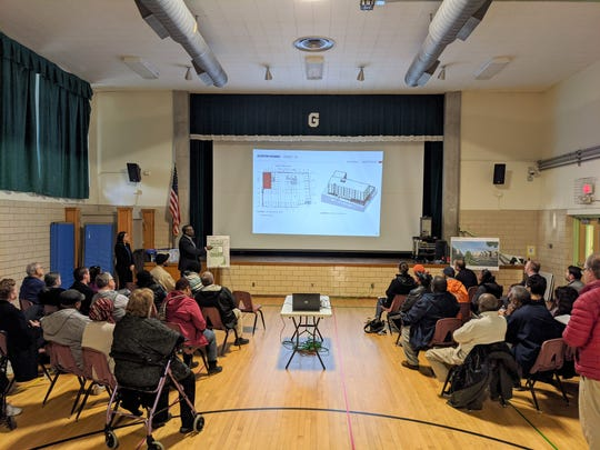 The Austin Homes master plan is revealed at an Open House at Green Magnet Academy in January. Jan. 27, 2020.