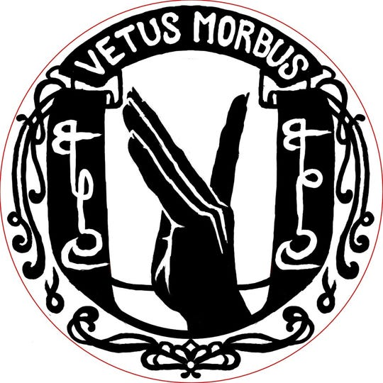 Vetus Morbus, Lafayette band created out of ritual gone wrong plays plot-driven musical acts, heavy with lore. The band is currently working on its second EP.