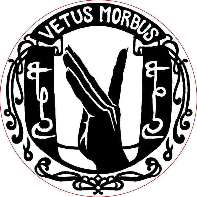 Vetus Morbus, Lafayette band created out ofritual gone wrong plays plot-driven musical acts, heavy with lore. The band is currently working on its second EP.