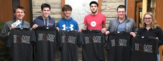 Reedsville High School recently announced its Students of the Month for the last three months, as follows: November—Evan Seering and Alvaro Camacho; December — Brennan Hynek and Noah Connell; and January — Nick Meidl and Hailey Oswald.