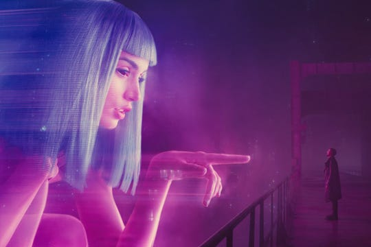 """The tech is surreal and advanced in """"Blade Runner 2049."""""""