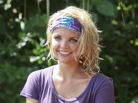 "Wisconsin native Andrea Boehlke was happy to be back out on ""Survivor"" for the second time as one of the ""favorites"" in the ""Fans vs. Favorites"" season that filmed in the Caramoan Islands in the Philippines in 2012."