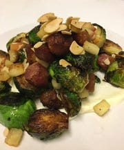 Bonobo American Bistro, 4518 N. Oakland Ave. in Shorewood, includes healthier preparations on its menu, such as a shareable appetizer of roasted brussels sprouts.