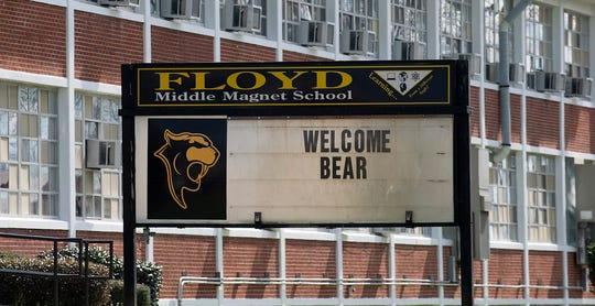 Floyd Middle Magnet School on Hall Street in Montgomery, Ala., on Friday February 7, 2020.