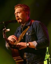Tyler Childers performs at the Ryman Auditorium in Nashville, Tenn., Thursday, Feb. 6, 2020.