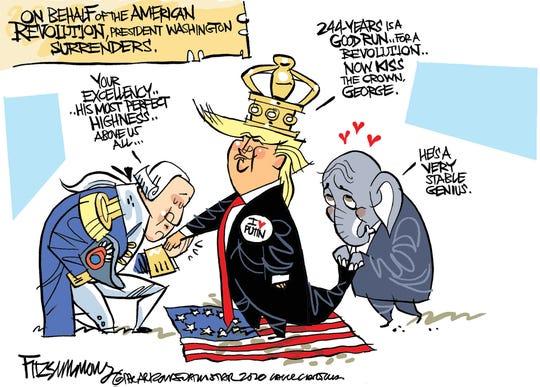 Washington bows to Trump.