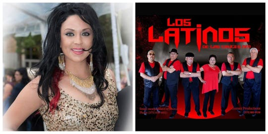 Natajja Gomez Patton and Los Latinos de Las Cruces will be performing at San Antonio Fan Fare Music Festival along with along with another Las Cruces band, Karlos Y La Ley March 12-15.