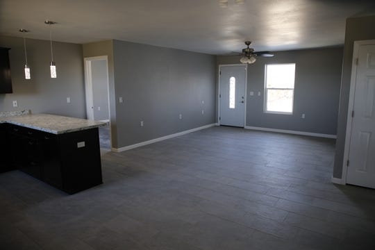 The interior of the most recent home constructed by Tres Rios Habitat for Humanity is pictured.