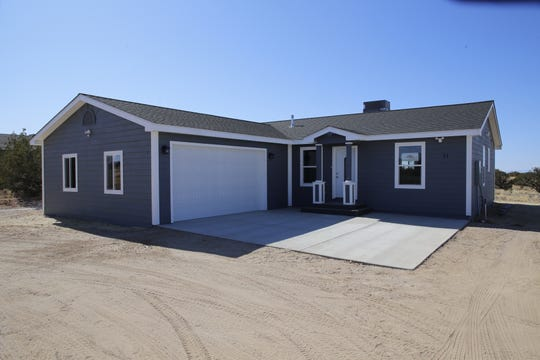 The most recent home constructed by Tres Rios Habitat for Humanity is located on Crouch Mesa and took five and a half months to build.