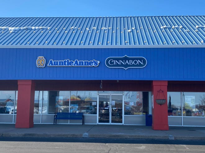 Auntie Anne's and Cinnabon are open at The Outlet Shoppes at Oshkosh, 3001 S. Washburn St.
