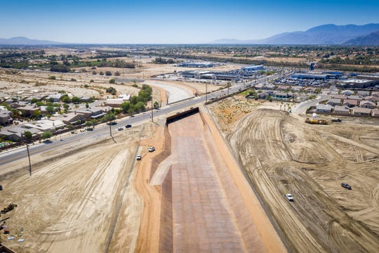 An EPA loan will assist in increasing the capacity of the Coachella Valley Stormwater Channel.