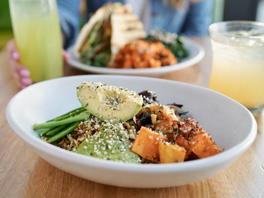 The Ancient Grains Bowl at True Food Kitchen in Las Vegas.