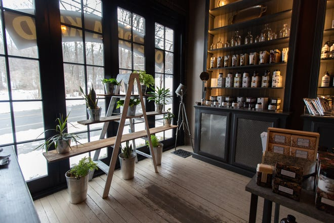 The Beekman 1802 Mercantile in Sharon Springs, Schoharie County, has been temporarily transformed into the Rose Apothecary from Canadian sitcom Schitt's Creek. Beekman 1802 partnered with the show to bring character David Rose's Rose Apothecary shop to life in upstate New York.