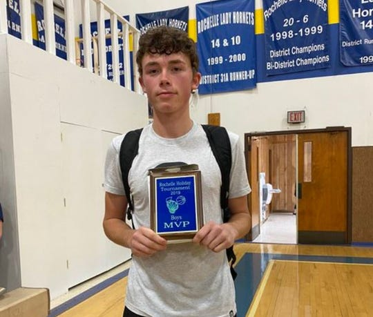 Junction's Collin Wallace was voted the Standard-Times Boys Basketball Player of the week for games played Jan. 27-Feb. 1 in 2020.