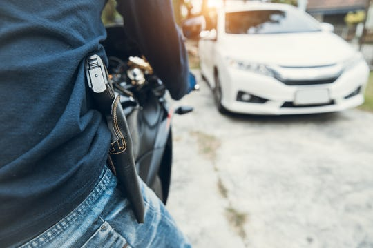 South Dakota's concealed carry legislation passed in 2019 didn't include a prohibition on concealing firearms while riding motorcycles.