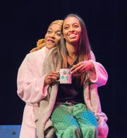 "The 2018 production of ""A Town Divided,"" with Juelle and Elle, which is being staged again this week."