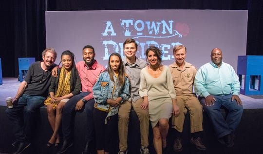 "The cast of the 2018 production of ""A Town Divided."" This year's production is directed by Bert Mitchell and is based loosely on Romeo and Juliet,  crafted from stories of Tallahassee residents. It can be seen Feb. 12-13."