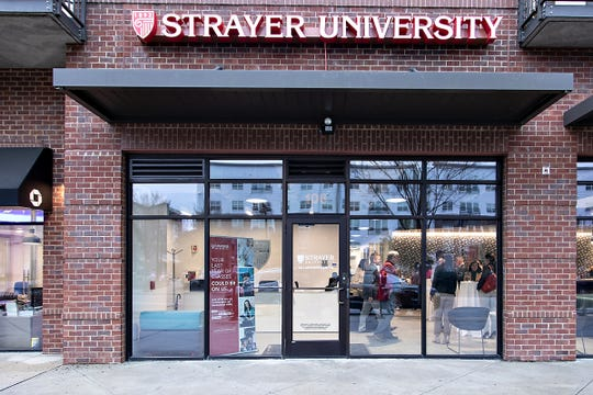 Strayer University, a for-profit institution, held an open house Thursday at its new location in Tallahassee.