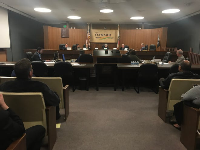 The Oxnard City Council Chambers was the location of a candidates forum on Wednesday for the Ventura County Board of Supervisors race.