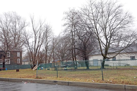 A view of the lot  purchased by Spring Valley's Martin Luther King Jr. Multi-Purpose Center where they have  plans new park for 'The Hill' neighborhood Feb. 7, 2020.