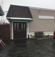 The parking lot behind T.J. McGowan Sons Funeral Home at 133 Broadway in Haverstraw, scene of a fatal shooting on Thursday, Feb. 6, 2020. A funeral home worker shot and killed a fellow worker in the parking lot, then was shot by a third person, officials said. The parking lot is seen on Feb. 7, 2020.