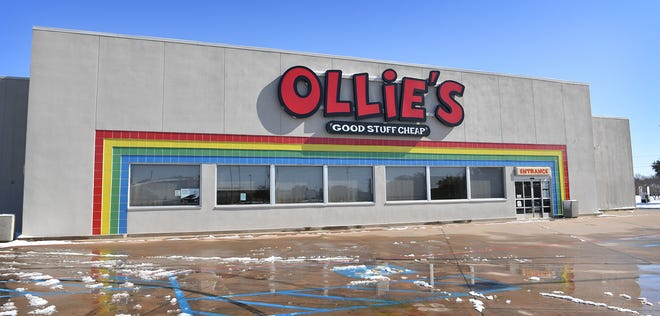 An Ollie's Bargain Outlet will be opening soon at the former Toys R Us location on East Elliott Street.