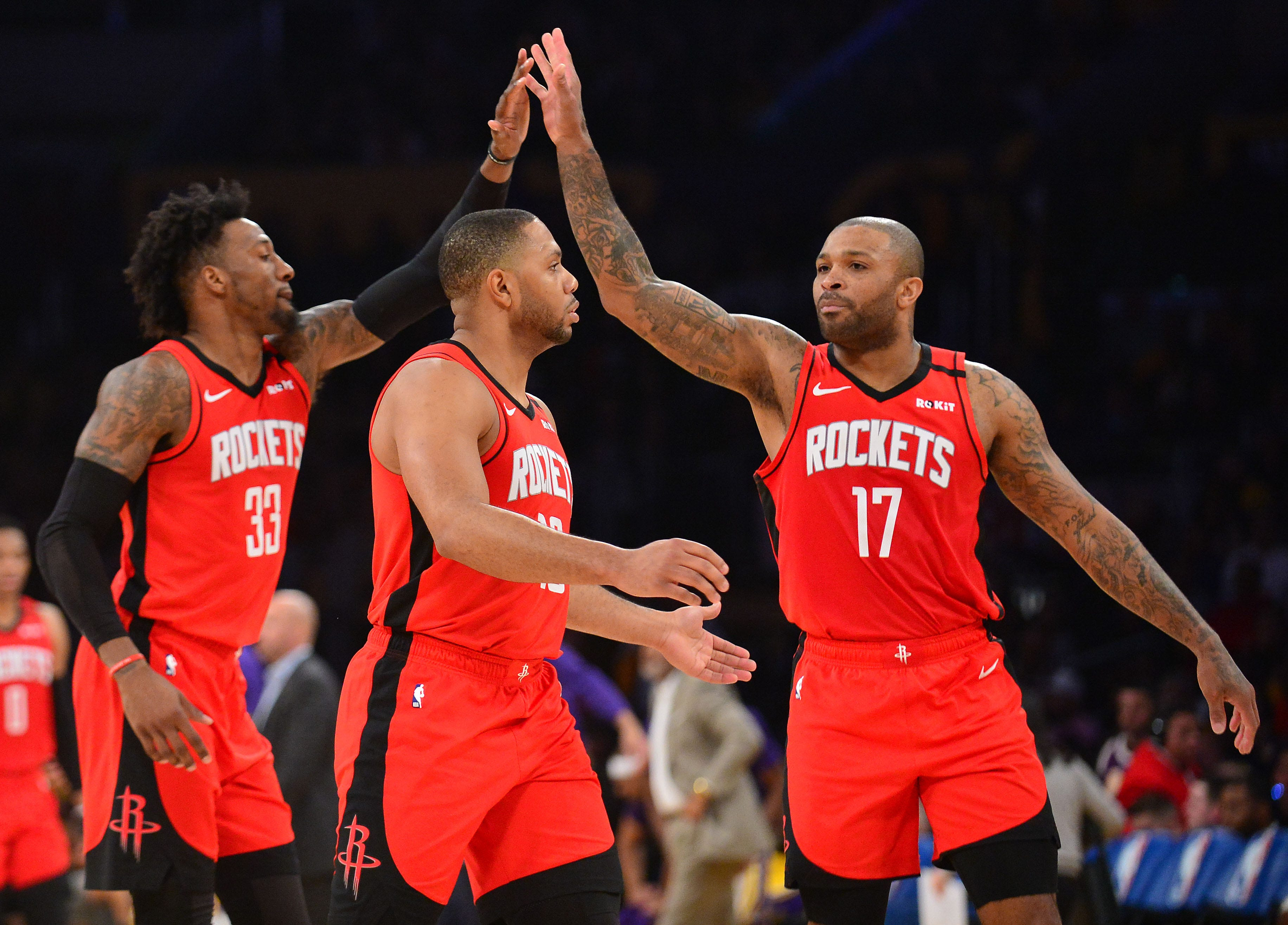 Rockets GM Daryl Morey happy with roster after trade:  We feel very comfortable we can beat the Lakers