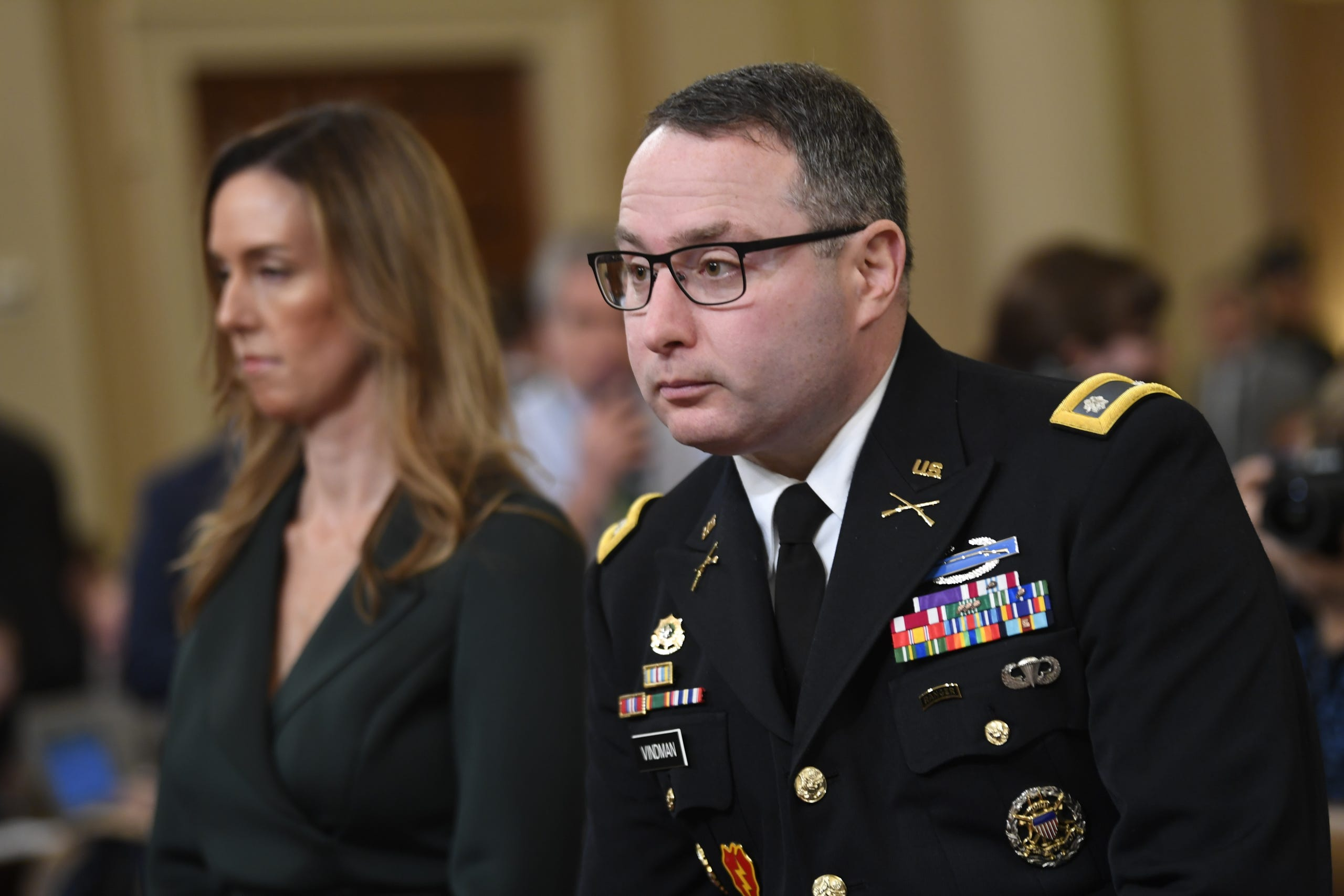 Lt. Col. Alexander Vindman was removed from his position as a National Security Council official on Feb. 7, 2020. Vindman had testified against President Donald J. Trump during the initial stages of impeachment investigations.