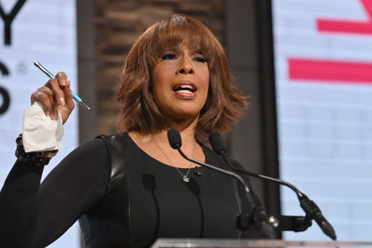 """During avideo appearance on """"The Talk"""" on June 4, Gayle King said she worries """"a lot about (the) safety"""" of her son.  """"My son is 33 years old, and I'm worried about him, saying, 'Will, please don't walk Scott, please don't take him for long walks, everything is so volatile,'"""" King explained. """"I'm worried about him walking his frickin' dog. … I worry for him being a Black man, period. … Welcome to being Black in America. This is not new."""""""