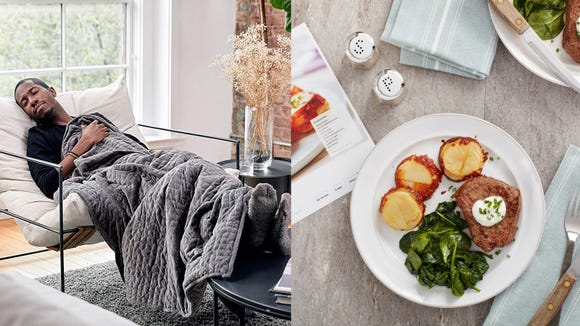 Save on our favorite weighted blanket, meal kit, and more this weekend.