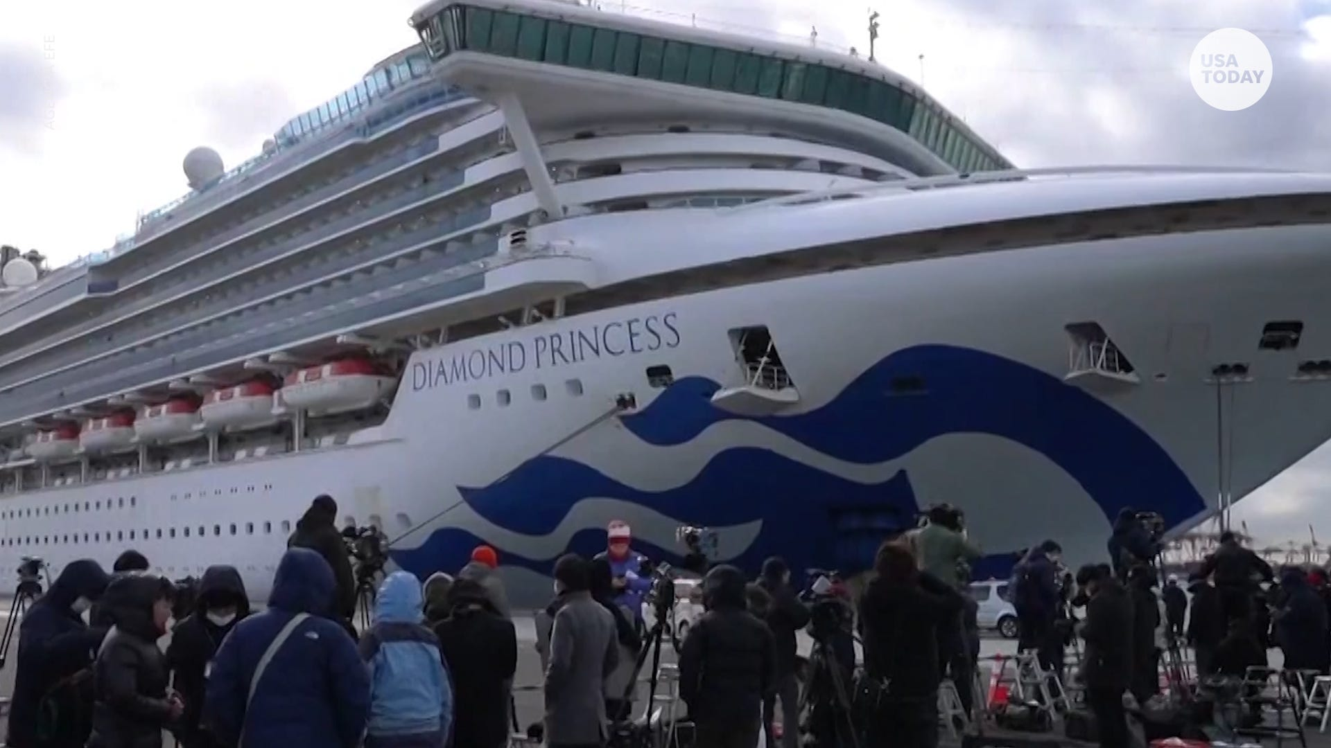 Dozens test positive for coronavirus on cruise ship
