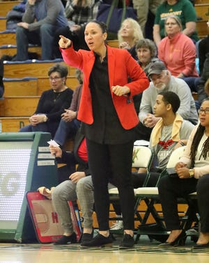 """Former Arizona assistant coach Morgan Valley, now coaching at Hartford, calls Friday's Final Four matchup between the Wildcats and UConn Huskies """"weird"""" for her."""