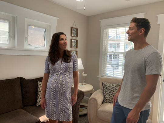 Stephanie and Stephen Scibal of Stratford shop for an Ocean City vacation home that will also serve as an investment property on HGTV's 'Beachfront Bargain Hunt.'