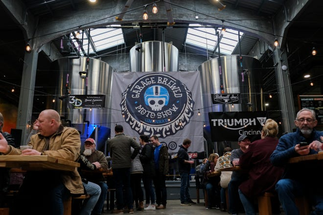 Rhinegeist Brewery's taproom at 1910 Elm St., Cincinnati, will be closed for two days for cleaning and staff testing after two employees tested positive for COVID-19. The plan is to reopen at noon Thursday, June 25, according to a Rhinegeist release.