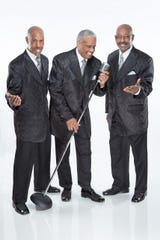 Russell Thompkins Jr., center, and the New Stylistics are part of the Valentine's Soul Jam lineup.