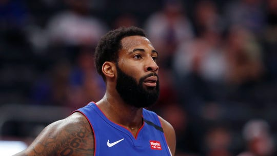 Andre Drummond was traded to Cleveland on Thursday for Brandon Knight, John Henson and a second-round draft pick.