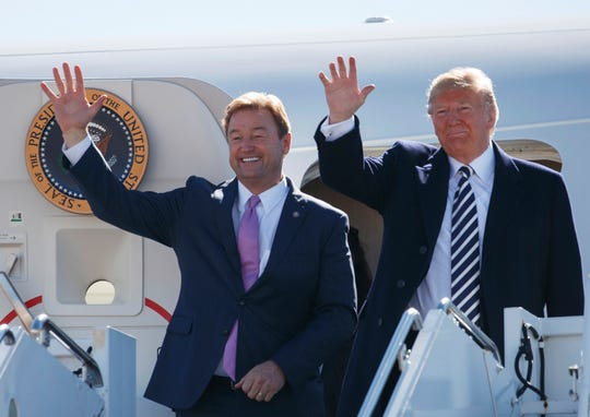 Sen. Dean Heller, R-Nev., was a Trump critic and later embraced him as he sought re-election to the U.S. Senate in 2018.