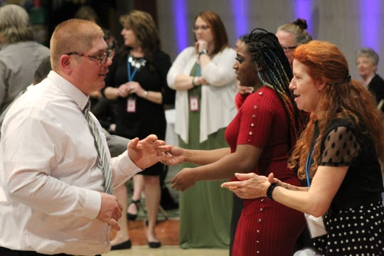 """Night to Shine 2020,"" a prom night experience for people with special needs ages 14 and older, drew about 500 people to Terra State Community College. New Hope Vineyard College hosted the event, which is sponsored by the Tim Tebow Foundation."