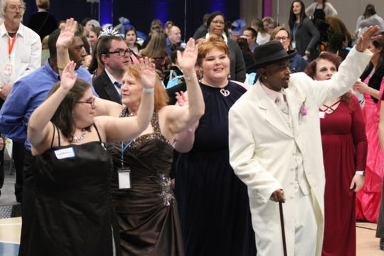 "Hundreds of guests showed up to celebrate  ""Night to Shine 2020"" at Terra State Community College. The event was hosted by New Hope Vineyard Church and sponsored by the Tim Tebow Foundation."
