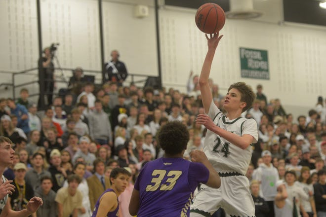 Fossil Ridge basketball player Mike Cover has committed to play at Rocky Mountain College in Montana.