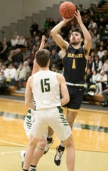 Kyle Hamlin scored 15 points for Hartland in a 53-48 victory over Howell.