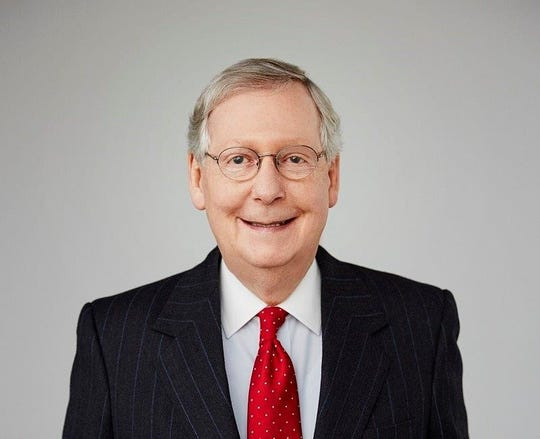 Mitch McConnell is the U.S. Senate majority leader.