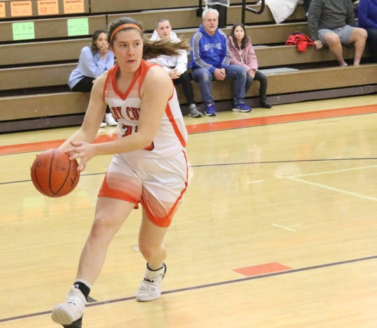 Lucas junior Paige Arnold led the Lady Cubs to their first league championship in 35 years thanks to her dedication and hard work.