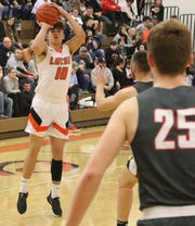 Lucas' Logan Niswander rewrote the record books last week with a 43-point, 9-3-pointer performance.