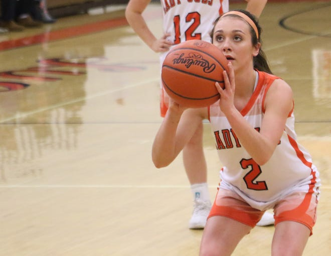 Lucas' Kayla Hignite helped the Lady Cubs end a 35-year league title-less drought.