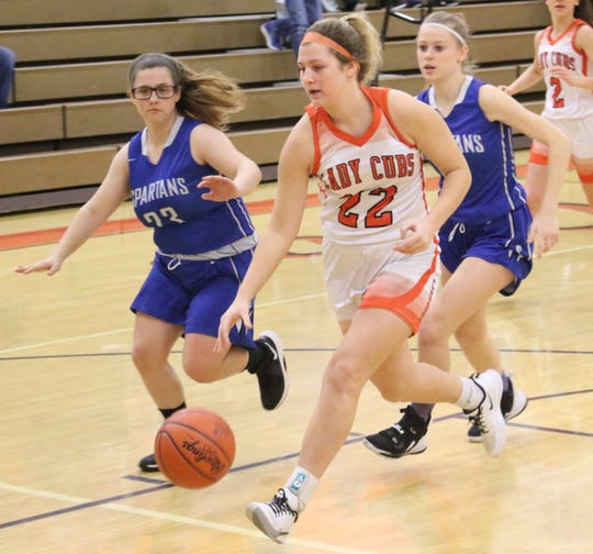 Lucas senior Jessie Grover led a turnaround in the girls basketball program that will be talked about for decades.