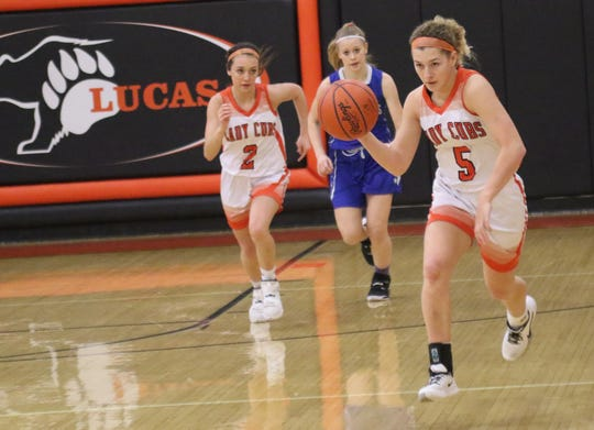 Lucas' Jamie Grover hopes to continue the tradition set by the seniors before her.
