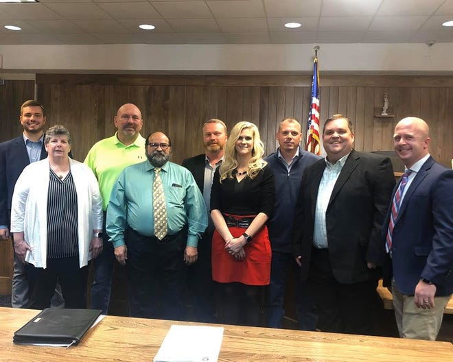 Members of Marion City Council.
