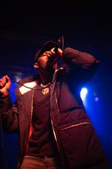 BlocBoy JB opens for Trippie Redd at a sold-out Eagles Ballroom at the Rave in Milwaukee on Friday, February 7, 2020.