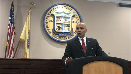 Parsippany Mayor Michael Soriano delivers his annual State of Parsippany address at the Municipal Building. February 8, 2020.